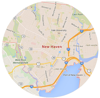 New Haven Garage Door Service Areas